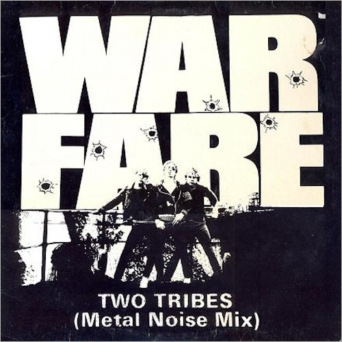 Warfare - Two Tribes 12'' 1984