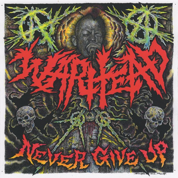 Warhead - Never Give Up - 2011