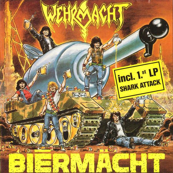 Wehrmacht - Biērmächt + Shark Attack - 1989