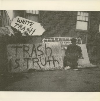 White Trash - Trash Is Truth / Wake Up! E.P. 1983
