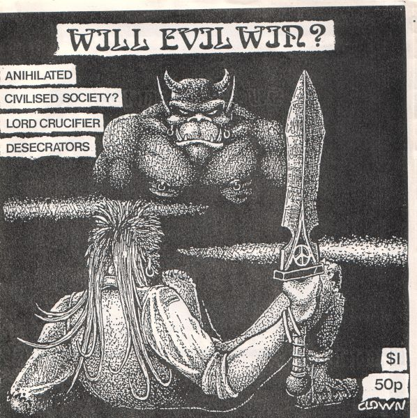 Various Artists - Will Evil Win Flexi 7'' 1987