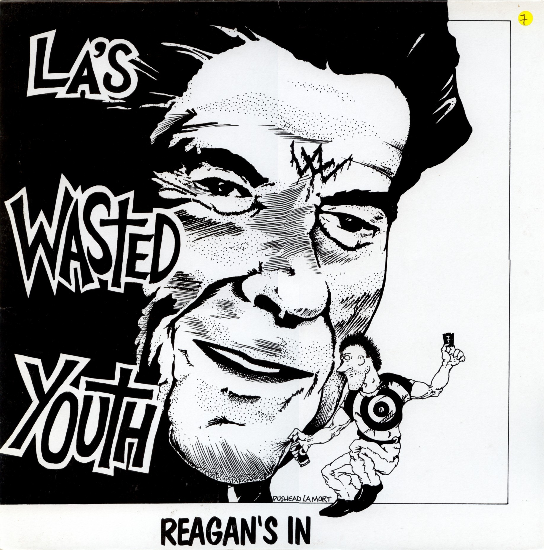 Wasted Youth - Reagan's In - 1981